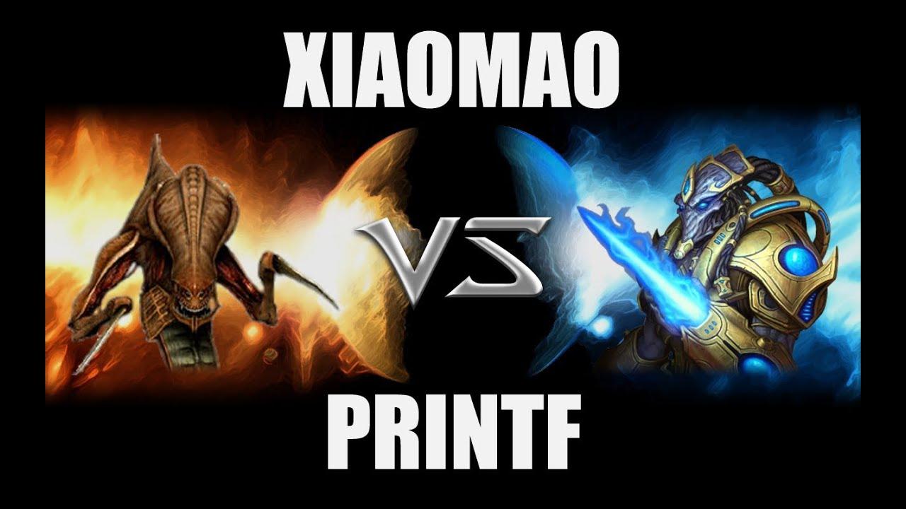 Xiaomao (Z) VS [Quasr]printf (P) - Starcraft 2