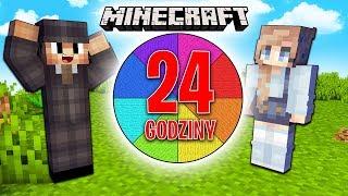 KTO ZBIERZE WIĘCEJ BARWNIKÓW W 24 GODZINY? -  Minecraft Chłopak VS Dziewczyna
