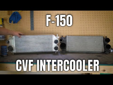 Checking out a PROTOTYPE performance intercooler!