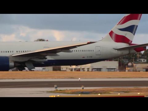 Planes in Barbados 07/05/2017