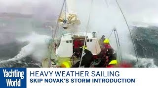 Heavy weather sailing round Cape Horn