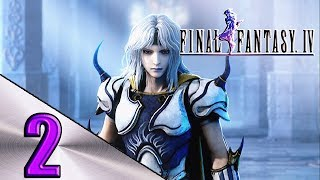 FINAL FANTASY 4 WALKTHROUGH PART 2 ANTLION,SANDRUBY,ROSA CURADA E O YANG