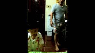 Đào Đào vs ba tập thể dục theo nhạc