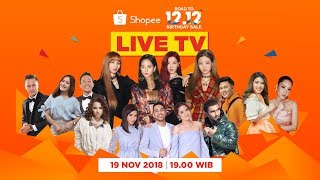 Acara Puncak Road to Shopee 12.12 Birthday Sale, Special Performance dari BlackPink