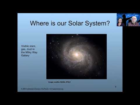 NSN Toolkit Webinar: Our Galaxy, Our Universe
