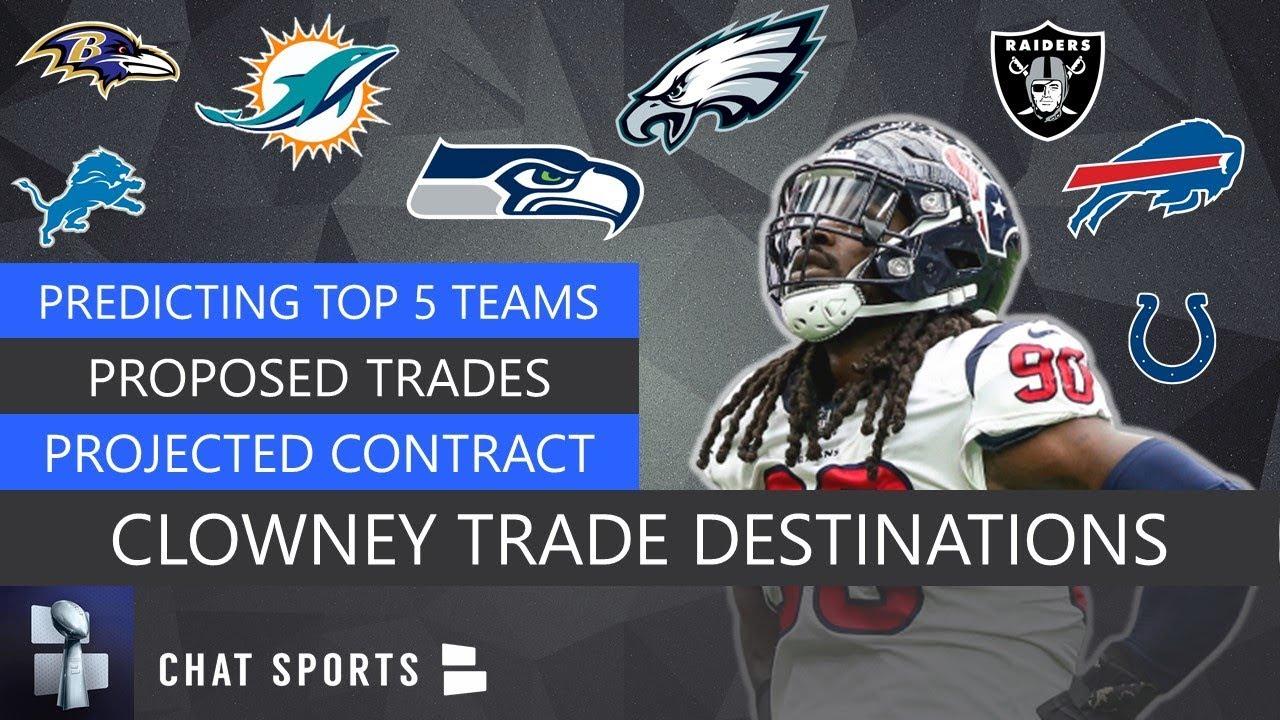 Jadeveon Clowney Rumors: Latest Buzz on Interest from Seahawks ...