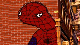"""Spider-Man Miles Morales PS5 """"Insane Wall Painting"""""""
