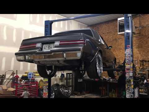 1983 Buick Regal LS Swapped, Custom rear Suspension by BET IT UP KUSTOMS BANKROLL TIM 6309730415