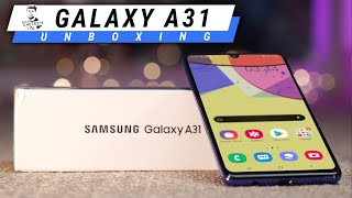 Samsung Galaxy A31 Unboxing - Nice Upgrade to the A30!