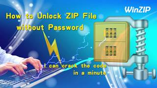 how to unlock zip file by recovering its password