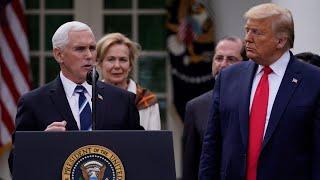 U.S. President Trump declares COVID-19 a national emergency