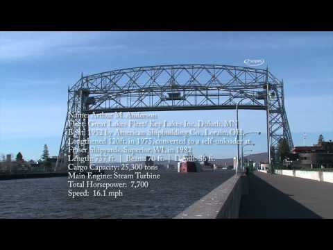 SS Arthur M. Anderson (Duluth-Superior Harbor) - Lake Freighter