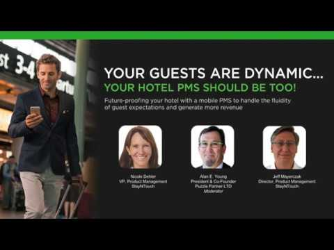 Your Guests are Dynamic, Your Hotel PMS Should be Too