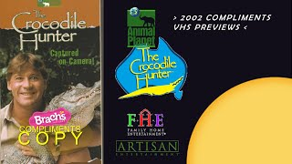"""Video Opening to """"The Crocodile Hunter: Captured on Camera!"""" 2002 VHS (Brachs Compliments Print)* download MP3, 3GP, MP4, WEBM, AVI, FLV Juni 2017"""