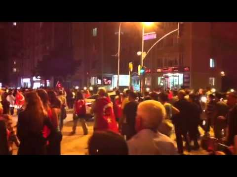 Gezi parkına müdahaleyi protesto - Kartal, Uğur Mumcu Mahallesi