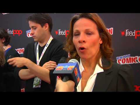 Lili Taylor Talks 'The Conjuring' At New York Comic Con