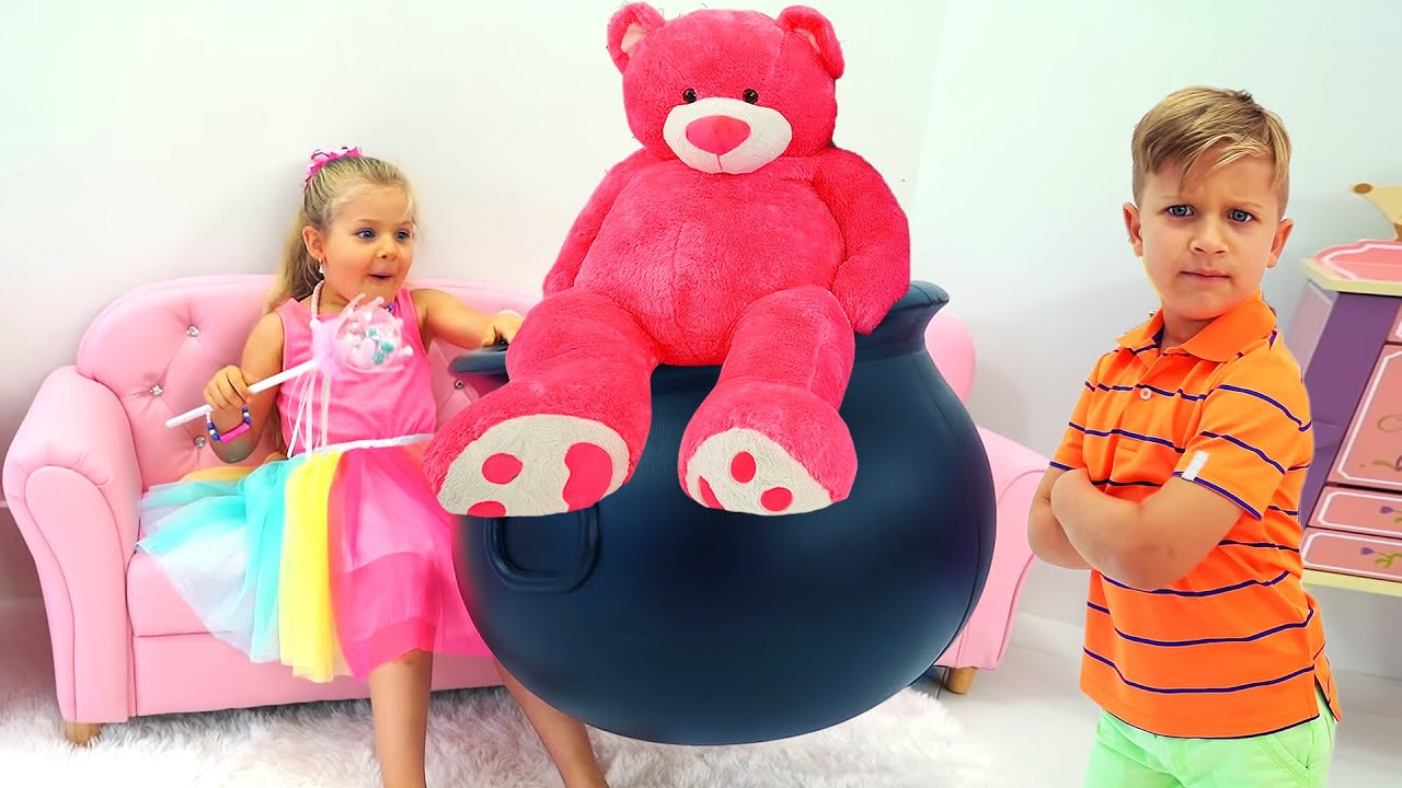 Diana and her Teddy Bear Adventure