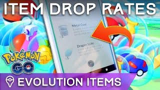 HOW RARE ARE EVOLUTION ITEMS? POKÉMON GO ITEM DROP RATES