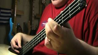 Gary Moore Empty Rooms Bass Cover