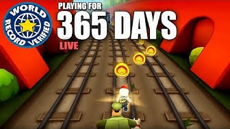 Playing Subway Surfers For 1 YEAR (World Record)