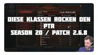 Diablo 3: Diese Klassen rocken den PTR (S20, Patch 2.6.8)