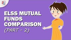 Top ELSS Mutual Funds in 2018 Comparison Part 2   Tax Saving Mutual Funds India Comparison