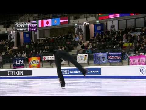 Sota YAMAMOTO - World Junior Figure Skating Championships 2015 [SP]