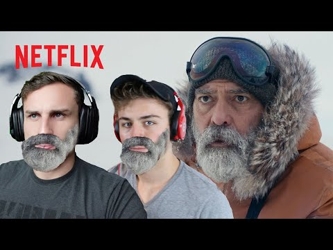 THE MIDNIGHT SKY (Netflix) | OFFICIAL TRAILER REACTION