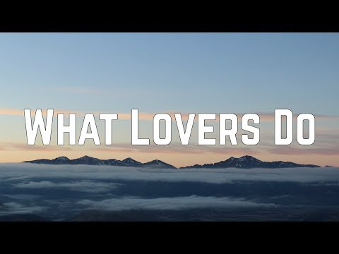 Maroon 5 - What Lovers Do ft. SZA (Lyrics)