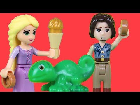 LEGO Playset Tangled Rapunzel Eugene Pascal
