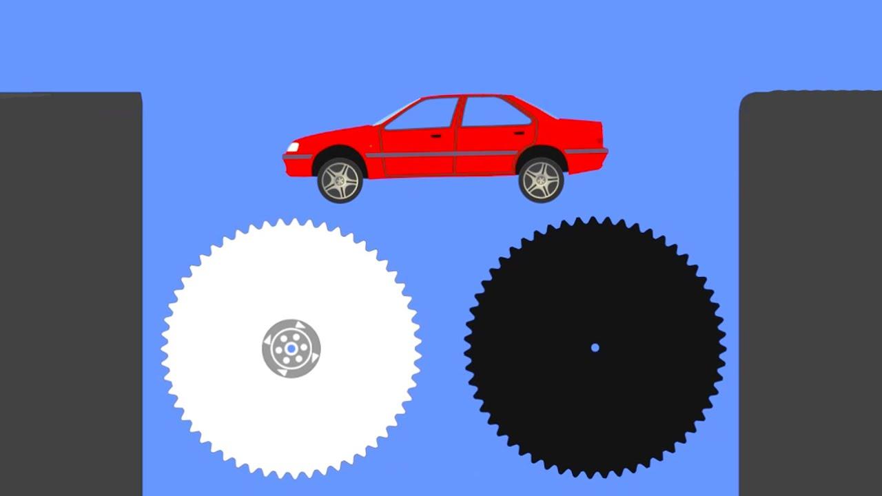 Extreme Car Crashes - Phun Algodoo Moments #5