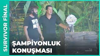Şampiyon Yusuf'un İlk Sözleri! - Survivor Final