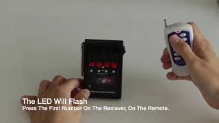 How To Pair Firework Remote To Receiver (FireworkFiringSystemsUK)