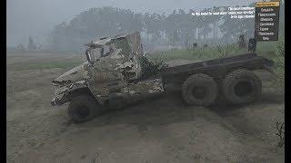 "Конверт грузовика из SpinTires в MudRunner (УРАЛ ""ТАЙФУН"" )#0001"