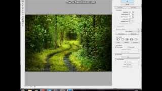 Как обработать фото в фотошопе ! Видео урок фотошопа. photoshop(Как обработать фото в фотошопе ! Видео урок фотошопа. photoshop как с осени сделать весну на фото., 2013-05-30T17:52:11.000Z)