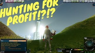 Entropia Universe: Beginner Hunting For Profit