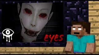 Monster School Eyes The Horror Game Challenge Minecraft Animation
