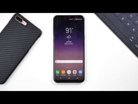 Samsung Galaxy S8! First Five Things To Do
