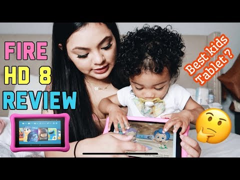 TODDLER'S FIRST TABLET Amazon Fireplace HD 8 Review | Genna Therese thumbnail