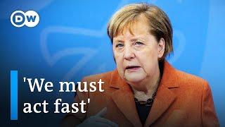 German chancellor angela merkel has set the table for a bleak holiday season, announcing raft of tough coronavirus lockdown measures, which she said were n...
