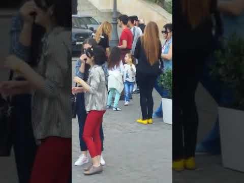 Azerbaijan beauty | dance party on street |