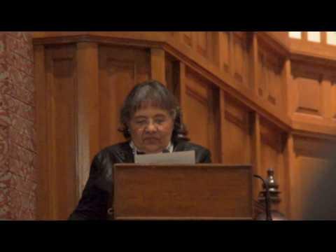 Ficklin Media Diane Nash at Yale, MLK, remarks Part 4