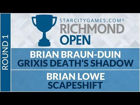 SCGRICH - Round 1 - Brian Braun-Duin vs Brian Lowe [Modern]
