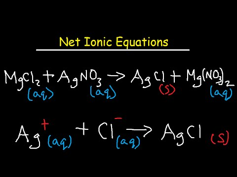 Net Ionic Equation Worksheet and Answers - YouTube