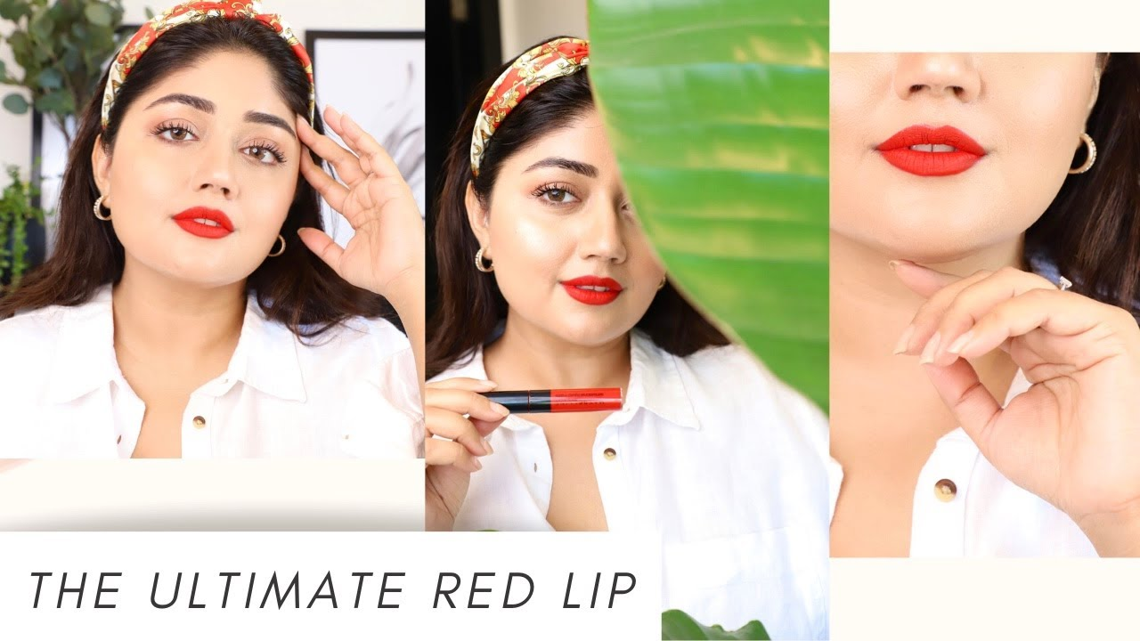 The Ultimate Red Lip Tutorial