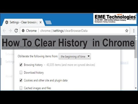 How to Clear History in Chrome