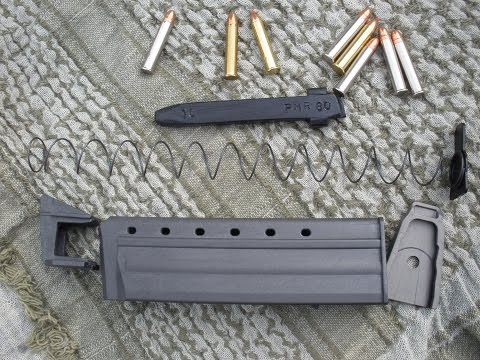 How to make your Keltec PMR 30 (WMR) 30 round magazine into a 10 round mag