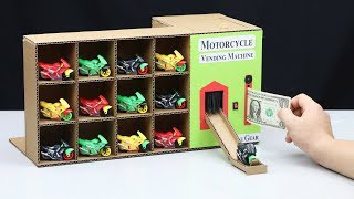 Video How to Make Amazing Vending Machine with Toy Motorcycle download MP3, 3GP, MP4, WEBM, AVI, FLV Juni 2018