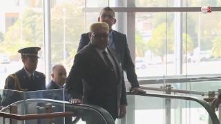 لحظات وصول ومغادرة الملك محمد السادس إلى مقر انعقاد القمة الافريقية