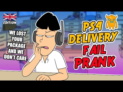 Asian PS4 Delivery Fail Prank (UK) - Ownage Pranks